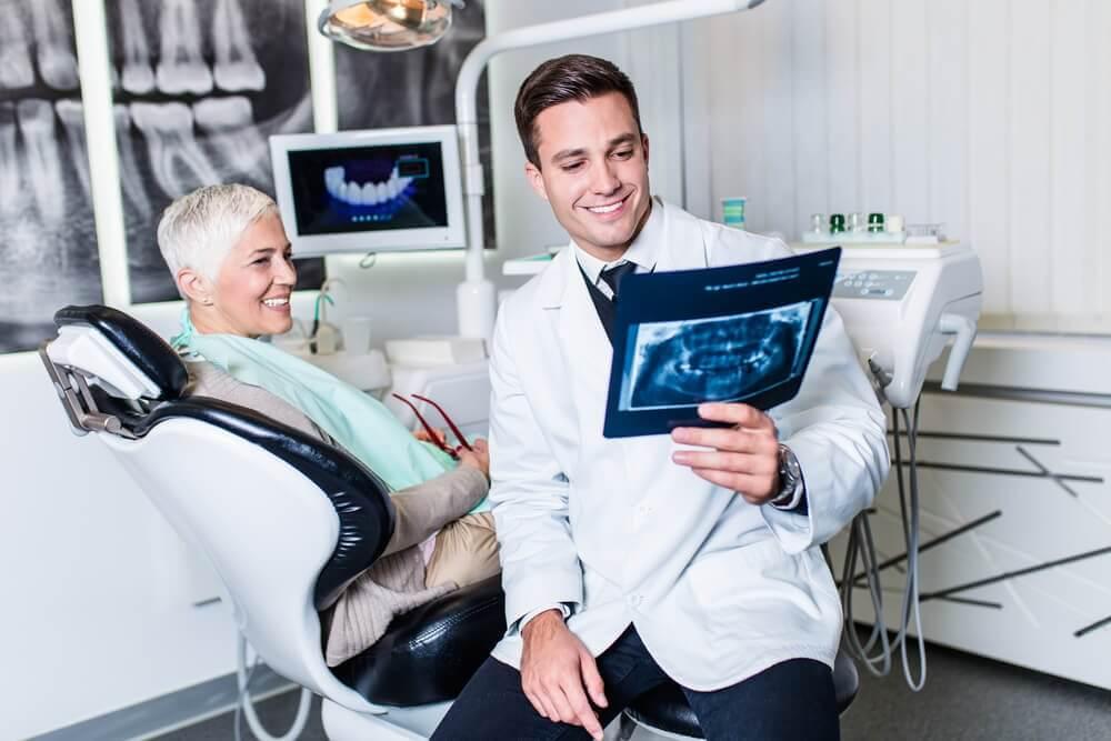Dental exam in 2020